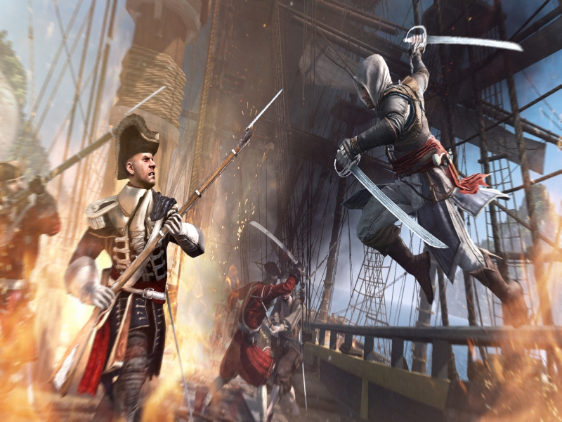 Download Assassin's Creed IV Black Flag Game Setup Exe