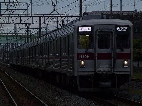 【運用消滅!】10000系Rの新栃木行き