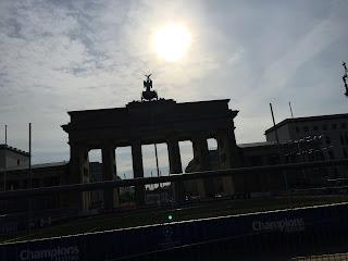 Das Brandenburger Tor - eines der vielen Highlights an der Strecke