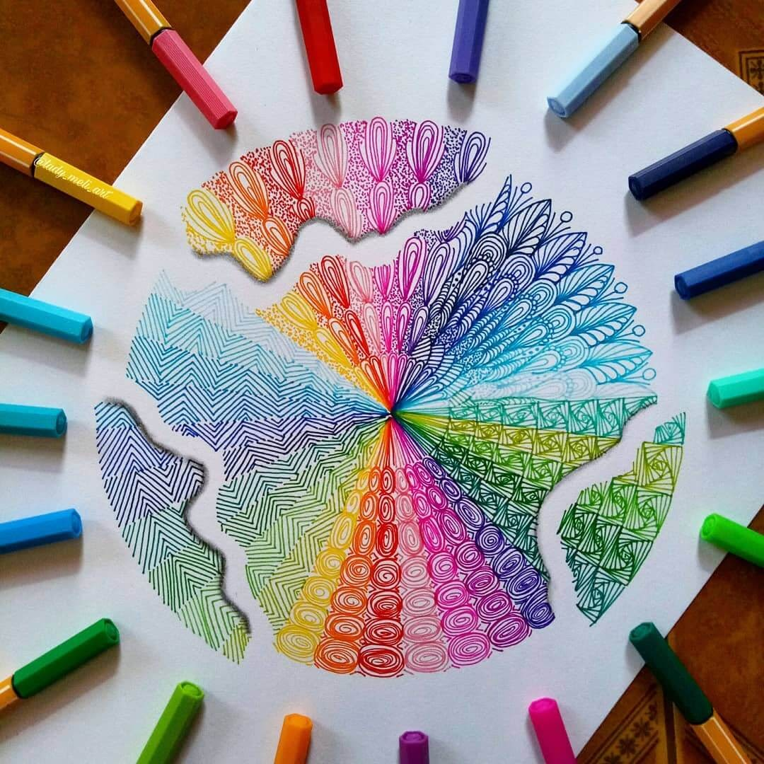 10-lady-meli-art-Colored-Pens-and-Geometric-Mandalas-Zentangles-Doodles-www-designstack-co