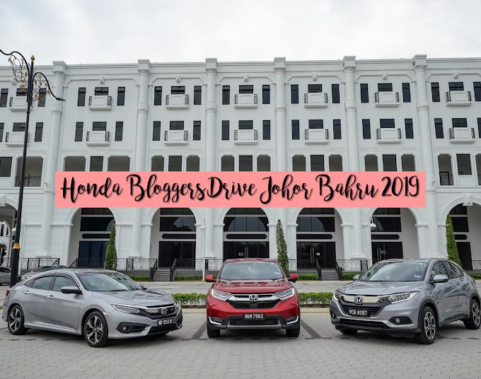 Honda Bloggers Drive Johor Bahru 2019