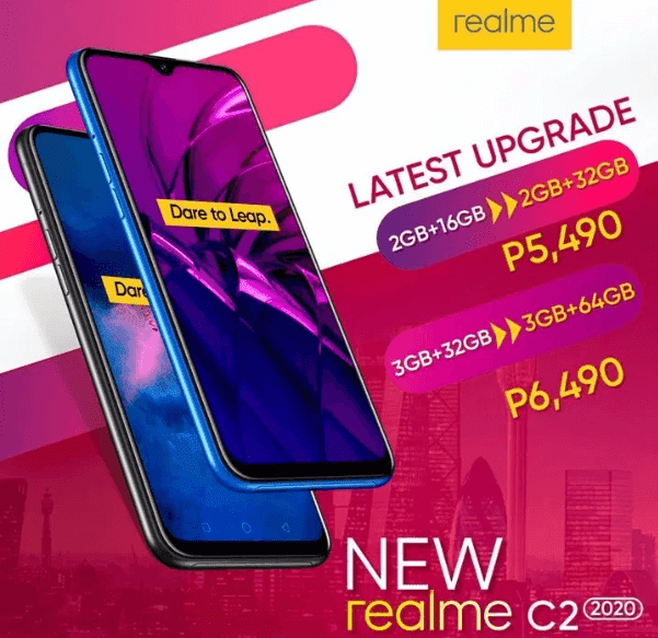 Realme C2 2020 now available in the Philippines