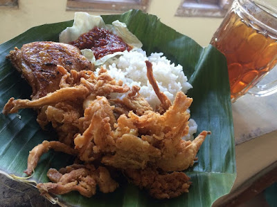 kuliner Boyolali - Merbabu penyet
