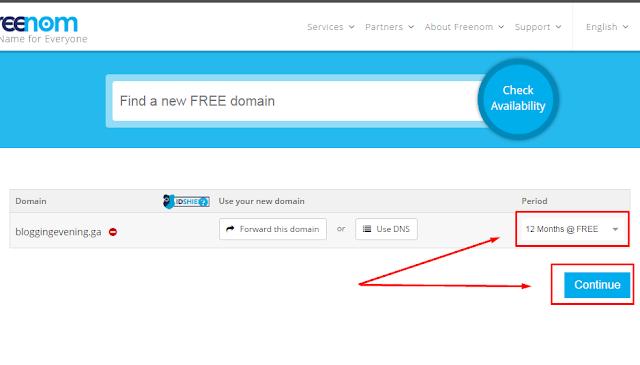 #4 Mengganti Domain Blogspot Menjadi Domain TLD Gratis melalui situs freenom.com