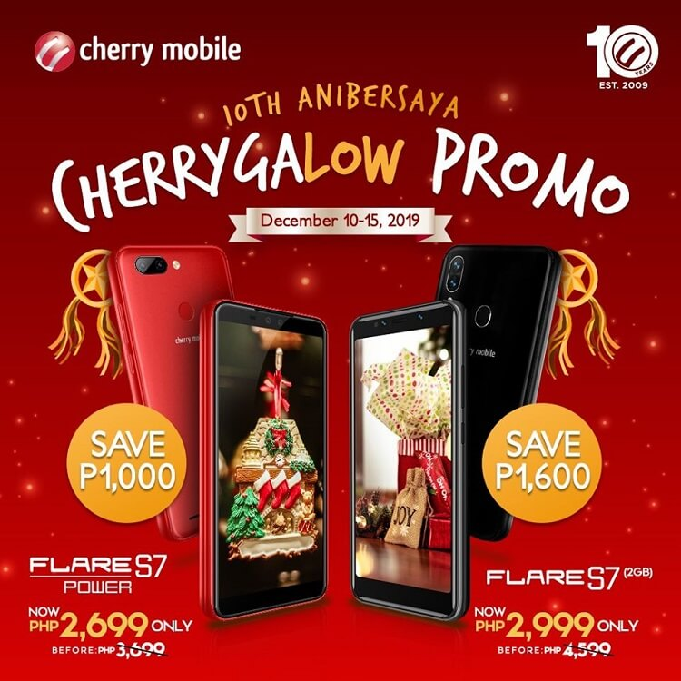 Cherry Mobile Announces CherrygaLOW Promo