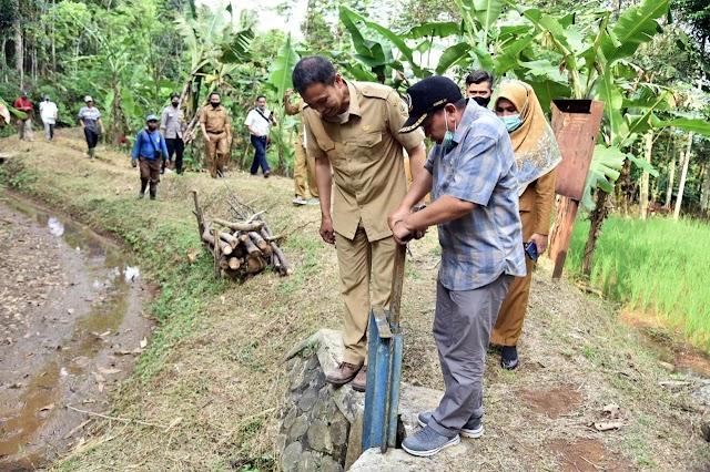 Antisipasi Pergerakan Tanah, Komisi IV Minta Irigasi UPTD Cimanuk – Cisanggarung Segera  Diperbaiki