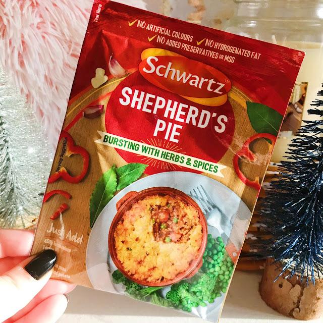 schwartz shepherds pie recipe mix