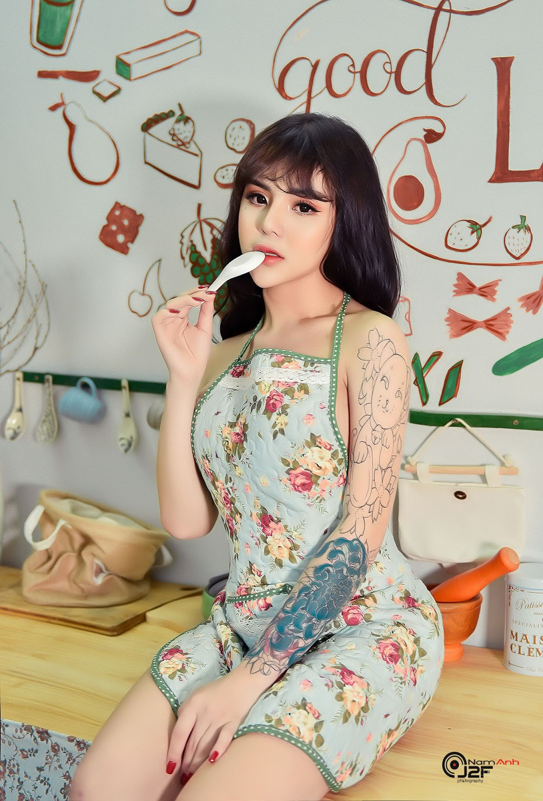 Bộ Ảnh Gái Xinh Xăm Mình Hở Bạo Cực Sexy @BaoBua: Eva
