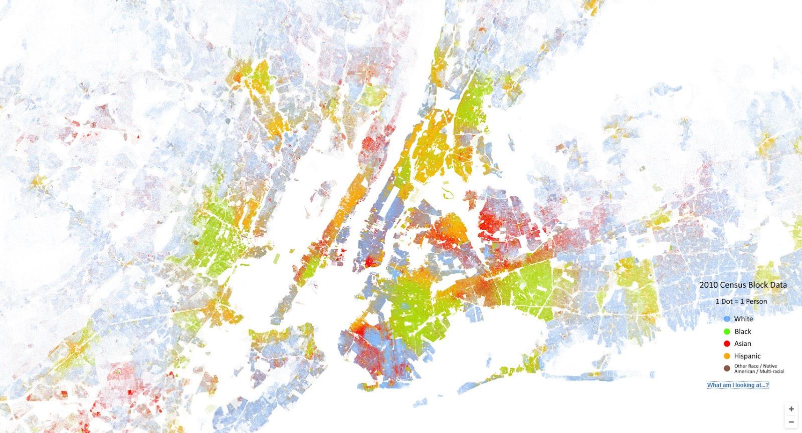 The racial dot map