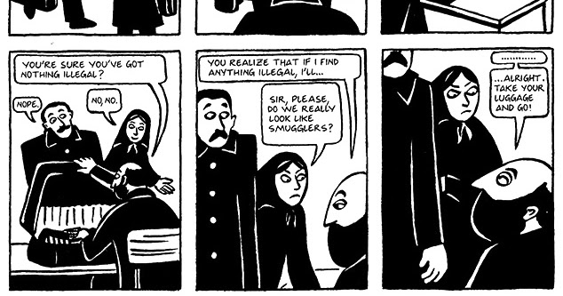 Read Persepolis 1 Section 17 Kim Wilde Page 127