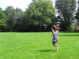 Rennen op blote voeten