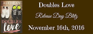 Release Day Blitz: Doubles Love by Ali Dean