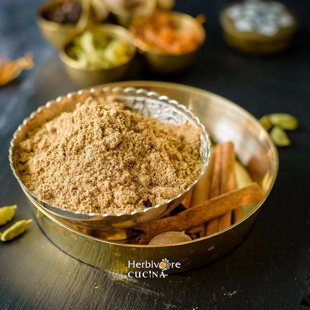 A mix of spices to make chai masala