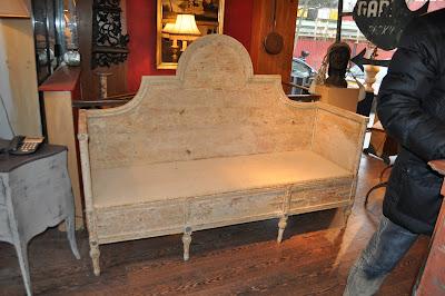scandinavian wood bench | kent kitchen works blog