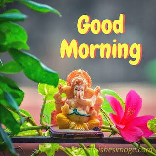 good morning ganesha images hd pics