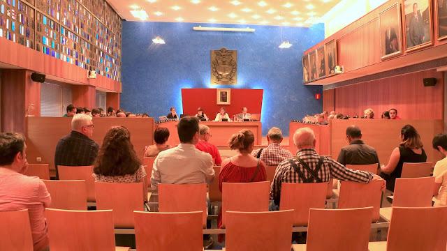 Sesión plenaria del Ayuntamiento de Barakaldo
