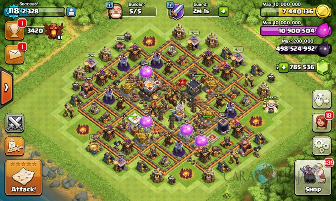 Base Coc Th 11 Terkuat Di Dunia 9