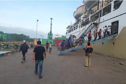 Aparat Gabungan Perketat Keamanan di Pelabuhan Yos Sudarso Merauke