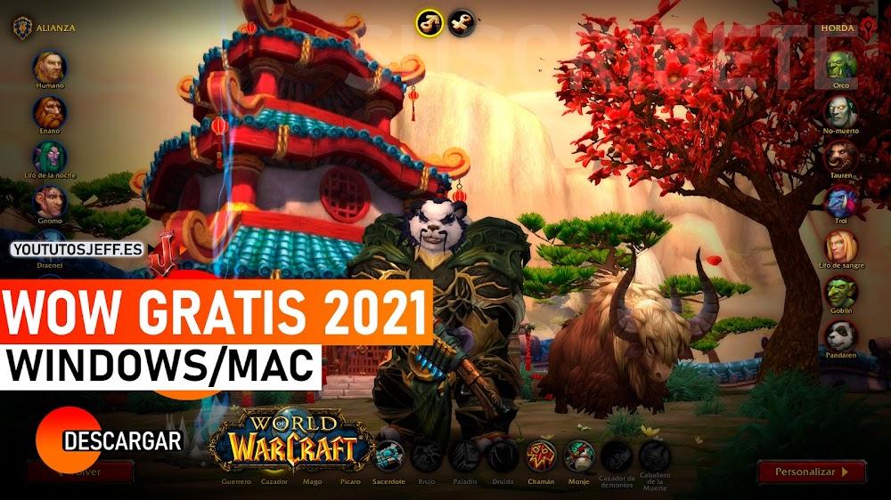 Como Descargar World Of Warcraft para PC Ultima Version 2021