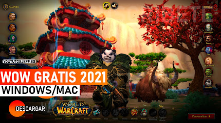 Como Descargar World Of Warcraft para PC Ultima Version 2021