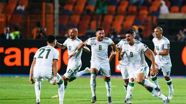 بونجاح يقود الجزائر للقب الثاني
