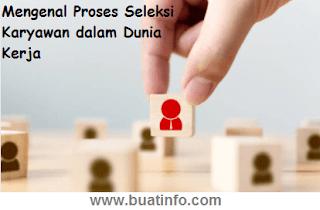 Buat Info - Proses Seleksi Karyawan