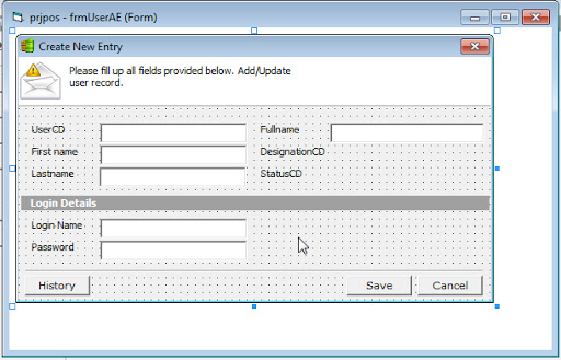 Source Coding Program POS (Point Of Sales)
