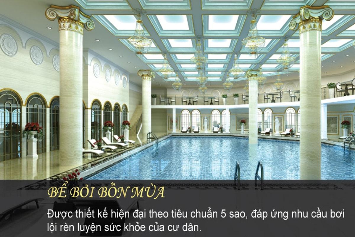 Bể bơi dự án D'. El Dorado Phú Thanh