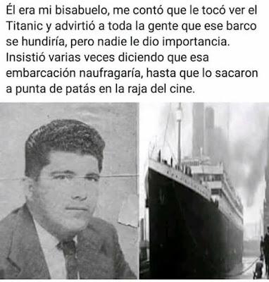 Mi bisabuelo y el Titanic