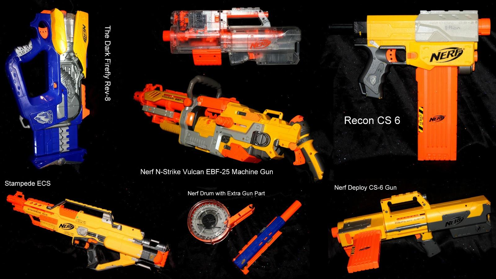Mid Century Modern Cool Nerf Gun Lot Pre Owned