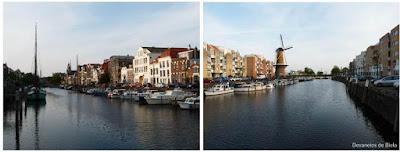 Dicas de roteiro por Rotterdam - Delfshaven