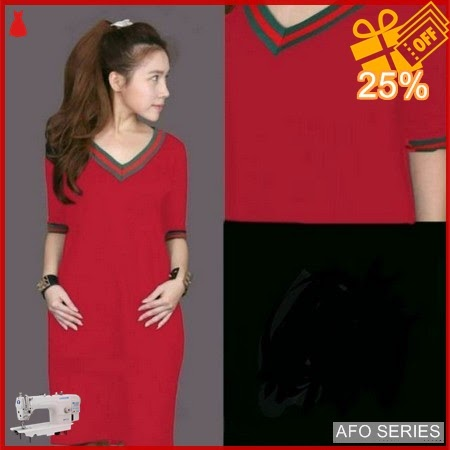 AFO399 Model Fashion Dress Cici V LD 90 Murah BMGShop