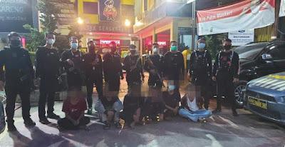 Team Pemburu Preman Polres Metro Jakbar Berhasil Amankan Pelaku Tawuran dan Seorang Gangster