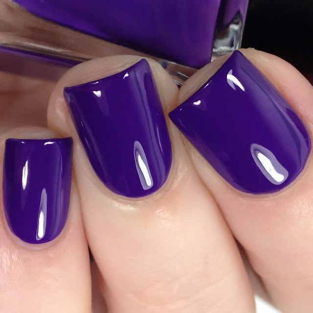Night Owl Lacquer-Bruised Not Broken