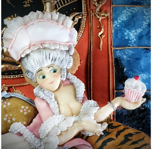 Marie-Antoinette - Marta Torres de The Cookie Lab