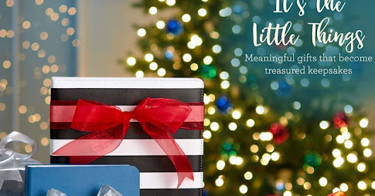 "December Campaign ""It's the Little Things"""