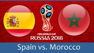 مباراة المغرب واسبانيا
