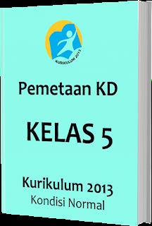 Pemetaan KD Kurikulum 2013 Kelas 5 SD/MI, www.gurnulis.id