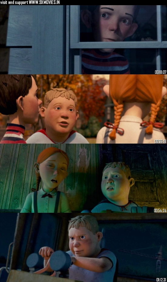 Monster House 2006 Dual Audio Hindi 720p BluRay 800mb