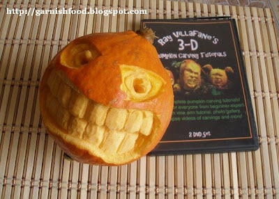 how to make 3D pumpkin