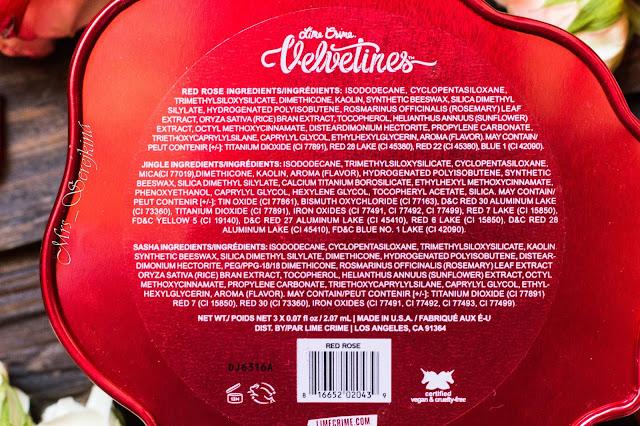 Lime Crime Red Velve-Tin Mini Velvetines Boxed Set