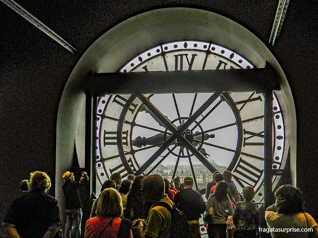 Relógio do Museu D'Orsay, Paris