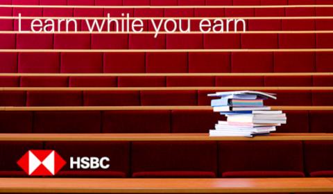 Learn while you earn – HSBC
