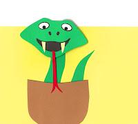 DIY Slangekort der vipper