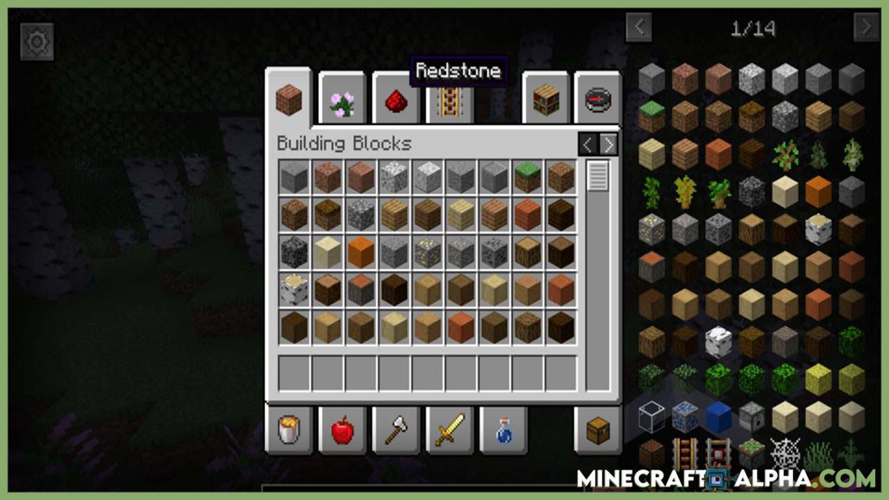 Minecraft Mouse Wheelie Mod 1.17/1.16.5 (Great Replacement for Inventory Tweaks)