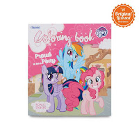 Alfacart Buku Gambar Proud To Be Pony My Little Pony Coloring Book S ANDHIMIND