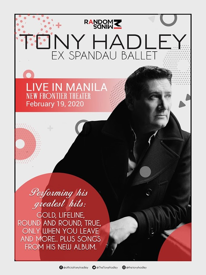 Tony Hadley at the New Frontier Theater