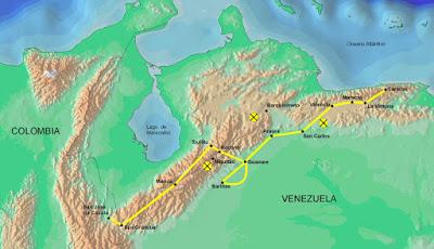 Mapa de la Campaña Admirable