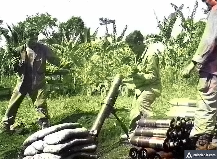 Fighting in Maculot