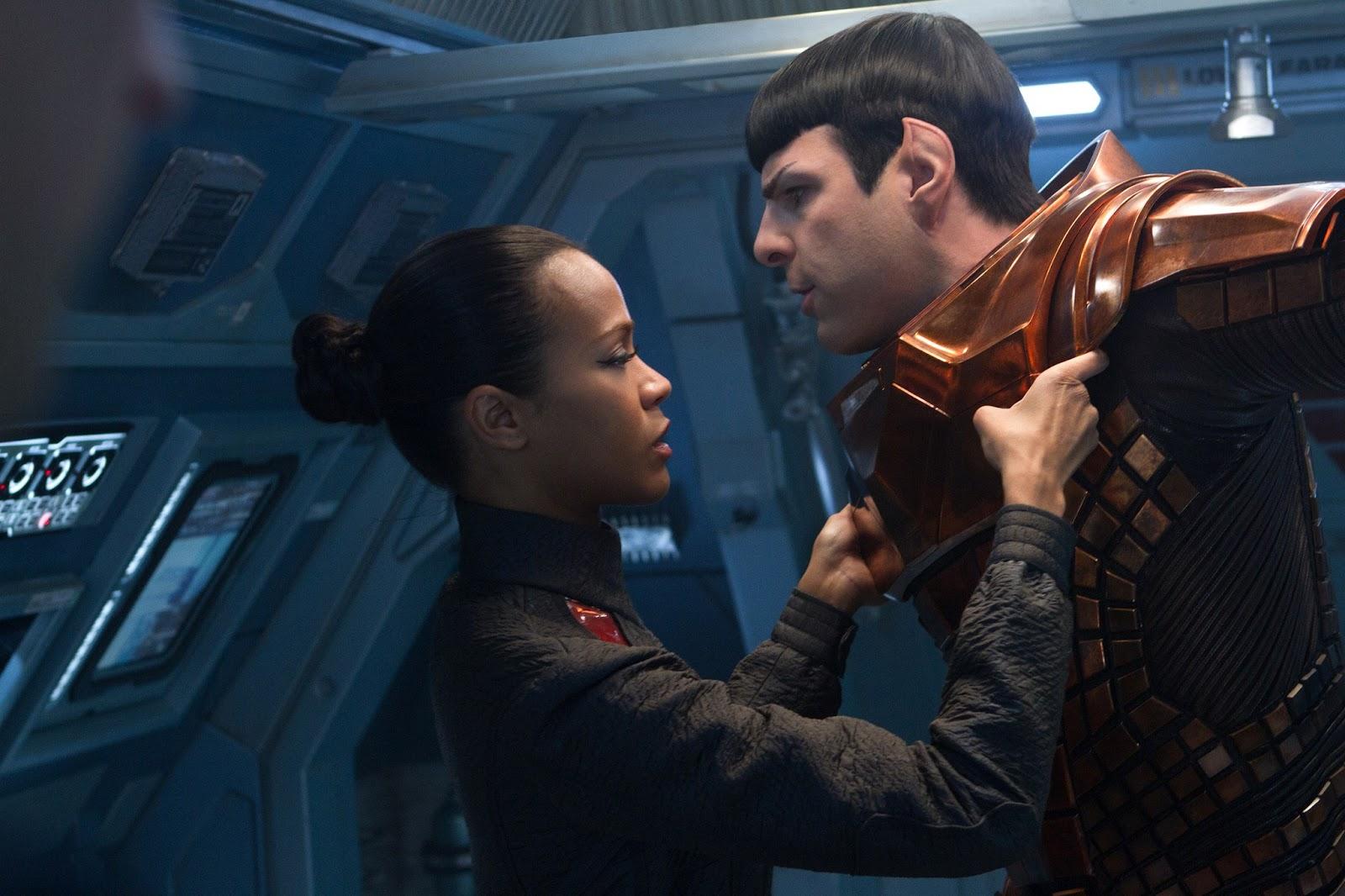 Cinema Viewfinder Movie Review Star Trek Into Darkness 2013